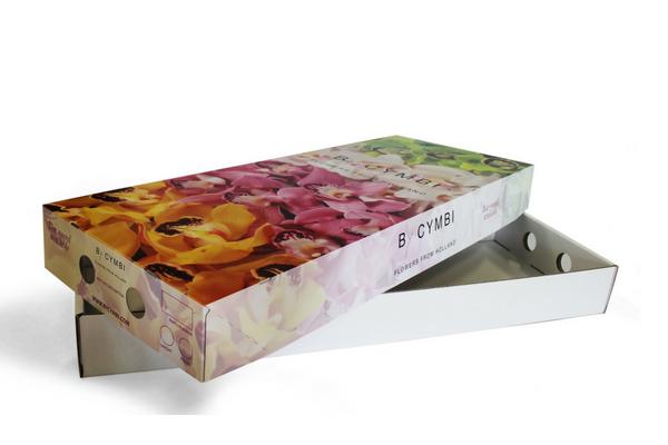 verzendverpakking bloemen