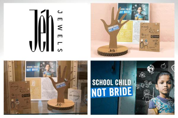 Het ontwerpen van unieke displays voor sieraden met een speciaal verhaal